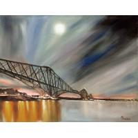 Print - Forth Rail Bridge by Annette Burgess