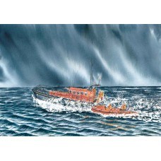 Card - Anstruther Lifeboat by Charlie Marshall