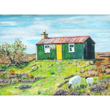 Print - The Bothy by Dinnes McArthur