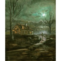 Print - Grandmothers House by Peter Torley