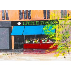 Card - Little Italy by Phil Spence