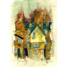 Print - Academy Close Old Edinburgh by Robbie Peterson