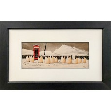 Framed Art - print, Cold Callers by Stan Milne