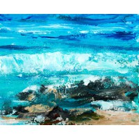 Card - Winter Wave by Wendy Houston